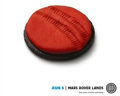 How the Most Epic Mars Mission Gets Turned into a Viral Ad, in One Oreo