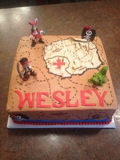 """Jake & the Neverland Pirates in """"Children's Birthday Cakes"""" — Photo 1 of 2 pirate cake birthday, jake pirates cake, jake and the neverland cakes, birthday parti, jake pirate cake, jake and the pirates cake, pirate cakes, jake pirate birthday cake, jake the pirate birthday cakes"""