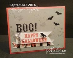 Stampin' Up! September My Paper Pumpkin by Melissa Davies @ rubberfunatics
