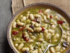 Pesto Bean Soup Recipe : Food Network Kitchen : Food Network