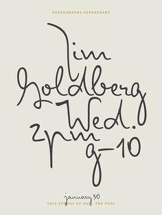jim goldberg at yale school of art | jessica svendsen