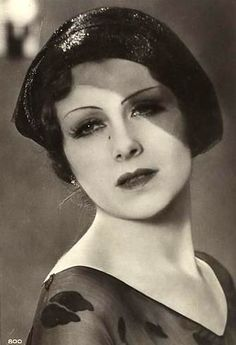 Jeanne Helbling  French Silent Actress  1920's -1940's