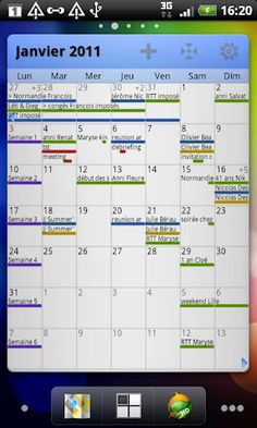Pure Grid calendar widget 2.3.7