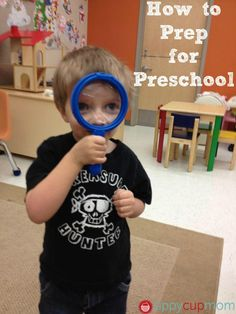 How to Prep your Child for #Preschool! #Education