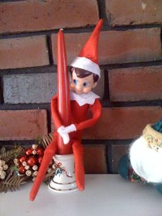 Pole dancing is not appropriate for young children. Elf does not care.