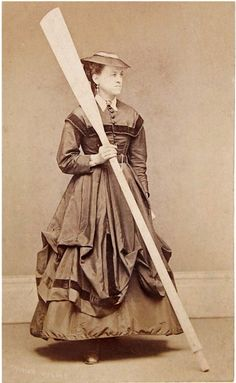 Heroic lighthouse keeper Ida Lewis, photographed after rescuing two Union Civil War veterans from the waters off Newport, Rhode Island.