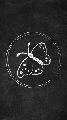 Free Chalkboard Instagram Story Highlight Covers - Butterfly  Try out a new look for your Instagram Stories with these unique Chalkboard Icons!  #Instagram #Instagramstory #chalkboard #instagramhighlights
