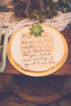place setting idea, photo by Kivalo Photography http://ruffledblog.com/1st-portland-notwedding #weddingideas #placesetting