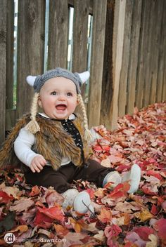 viking baby costume #halloween
