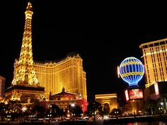 Las Vegas, Paris Hotel...where we have stayed