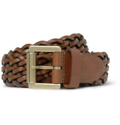 Fashion Piece: Woven-Leather Belt