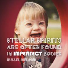Stellar spirits, imperfect bodies. #ldsconf