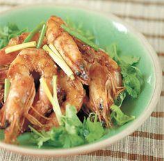 Honey Ginger Shrimp