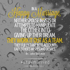 Are you and your spouse on the same team?   (image: #staymarried) — with LightsHope.