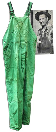 Mr. Green Jeans' green jeans!