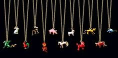 The Terrier and Lobster: Rainbow of the Week: Solange Azagury-Partridge Chinese Zodiac Animal Jewelry