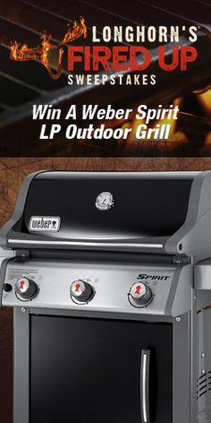 Win A Weber Spirit LP Outdoor Grill