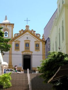 Rosario's Church in Florianópolis, Santa Catarina, Brazil.