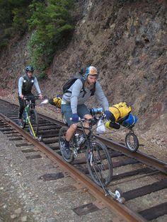 Track rails bike