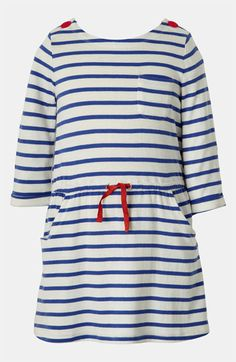 Mini Boden Boat Neck Dress (Toddler, Little Girls & Big Girls) available at #Nordstrom