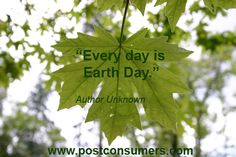 Best Earth Day Quote