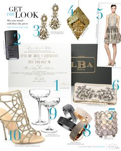 @Ceci Basualdo New York featured our Bling Votive Cups in their mixed metals feature.