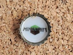 Minecraft Bottle Charms  upcycled jewelry necklace by UpcycleFever, $11.00