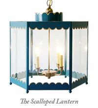 Coleen and Company Scalloped Lantern