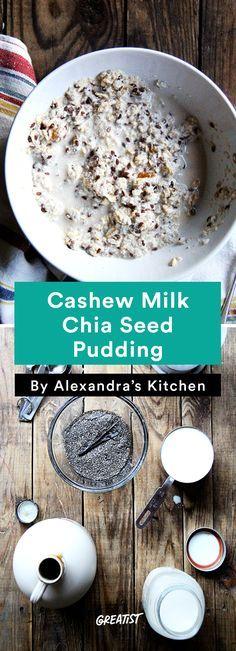 7. Cashew Milk Chia