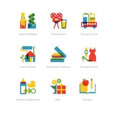 icons/22 Seven by Radio , via Behance