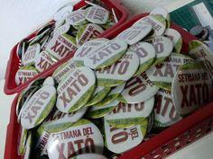 Chapas personalizadas para campaña promocional de supermercado, www.chapea.com