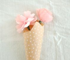 Sweet flower wrapping.