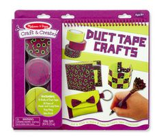 With a roll of duct tape, a creative crafter can do just about anything--as long as she knows how! This book-and-craft set reveals the secrets behind eight exciting tape-craft projects, including a wallet, bracelet, pen topper, and much more.