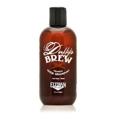 Duffy's Brew Original Beer Shampoo - I use this stuff every day and LOVE it - $16