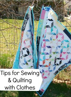 Quilting a T-Shirt Quilt Instructions and Hints -