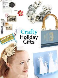 These homemade craft projects make perfect presents.  #holiday #gifts