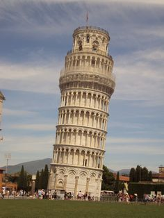 The Leaning Tower of Pisa, going over Easter break!