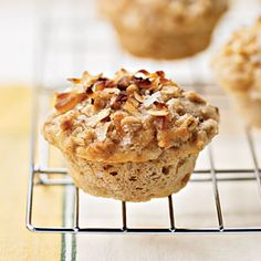 Healthy Muffin Recipes | Tropical Muffins with Coconut-Macadamia Topping | CookingLight.com
