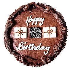 QR Cake and other fun QR code stunts - QR Code Press | QR Code Art | Scoop.it