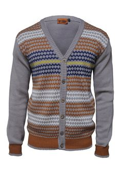 Isicangci cardigan by MaXhosa knitwear - bead pattern inspired knitwear. MaXhosa by Laduma is a distinctive knitwear brand that is rooted in Laduma Ngxokolo's journey into creating Xhosa-inspired knitwear. #African #style #South_Africa