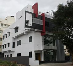 Front Elevation of Nalini's West Facing Commercial Complex in Bangalore