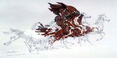 "Bev Doolittle presents ""Eagle's Flight"""