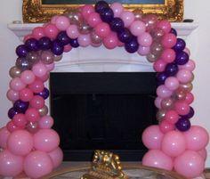 Princess Balloon Mini Arch