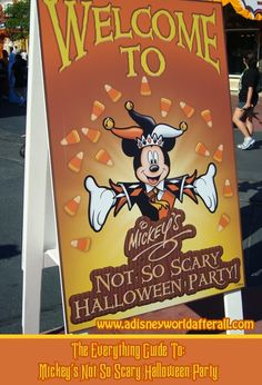 It's A Disney World After All: A Complete Guide to Mickey's Not So Scary Halloween Party 2014