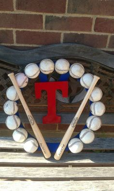 Texas Rangers Wreath!!