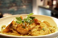 Shrimp Scampi with Linguini from FoodNetwork.com, from Tyler's Ultimate