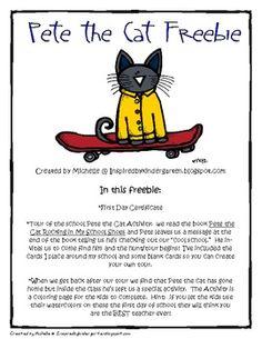 Pete the Cat Freebie