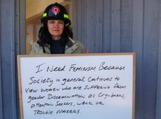 Who Would Bully A Firefighter?! The Answer Is Crazy. #feminism