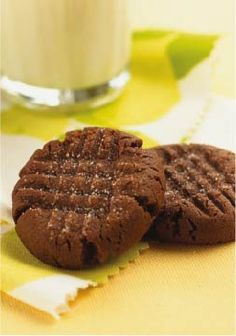 Soft & Chewy Chocolate Peanut Butter Cookies — The beloved peanut butter cookie gets a chocolate boost from devil's food cake mix while rich cream cheese lifts the chewiness to new heights.