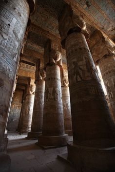 Temple of Hathor, De